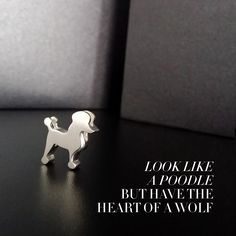 Stay elegant and stand proud with our new Little #Poodle. #alexwoo #mondaymotivation #littleicons #madeinny #savorsilver http://www.alexwoo.com/icons/little-animals/little-animals-poodle-in-sterling-silver.html
