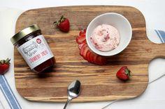 Our Recipes | Strawberry Ice Cream Hamptons Lane