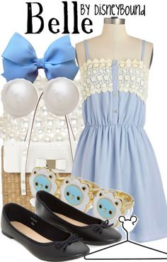 Beauty And The Beast Belle Outfit