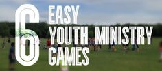 This website has several original and interesting games for youth groups. Finally....some new stuff!