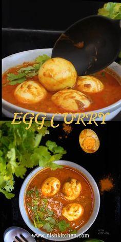 Indian Food Recipes, New Recipes, Healthy Recipes, Ethnic Recipes, Amazing Recipes, Indian Egg Curry Recipe, Kitchen Recipes, Cooking Recipes, Tomato Nutrition