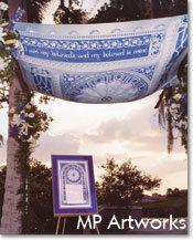 Modern Jewish Wedding - Chuppah 3 www.themodernjewishwedding.com