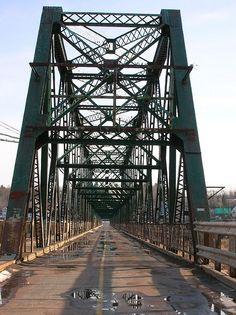 Old Gunningsville Bridge - Moncton, New Brunswick by maZe Canadia, via Flickr