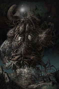 Necronomicon Lovecraft, Lovecraft Cthulhu, Hp Lovecraft, Arte Horror, Horror Art, Dark Fantasy Art, Dark Art, Le Kraken, The Dunwich Horror