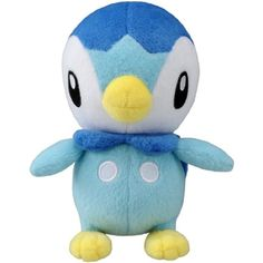 Takaratomy Pokemon Best Wishes Plush Doll - Pochama/Piplup ** To view further for this item, visit the image link. (This is an affiliate link) #PlushFigures