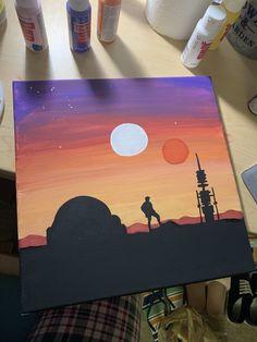 Star Wars Binary Sunset