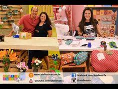 Ateliê na TV - Rede Brasil - 16.05.16 - Alessandra Palante e Lia Pavan