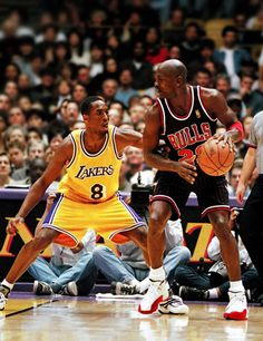 A Young Kobe Trying To Guard Mike, '97.