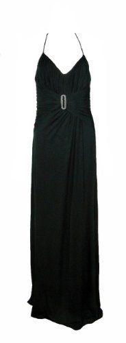 Lbd Laundry by Design Black Ruched Spaghetti Strap V-Neck Gown Dress 8 [Apparel] laundry by SHELLI SEGAL,http://www.amazon.com/dp/B006OBG6NY/ref=cm_sw_r_pi_dp_9SkBrbB34C0448B9