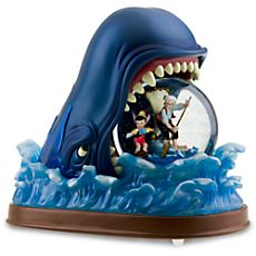 Monstro the Whale Snowglobe