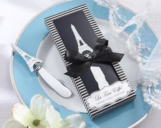 'La Tour Eiffel' Stainless-Steel Spreader from Wedding Favors Unlimited