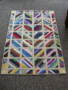 Quilt as you go string quilt blocks