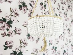 DIY a Beaded Chandelier for Less Than $50 on domino.com