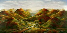 Paradise Valley - by Akiane Kramarik, Jesus Pictures, Pictures To Draw, Akiane Kramarik Paintings, Heaven Is Real, Heaven Painting, Child Prodigy, Prophetic Art, Paradise Valley, Amazing Paintings