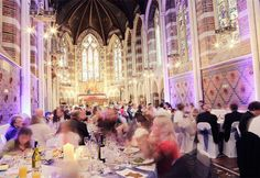All Saints Chapel, Eastbourne Heavenly glamour As atmospheric as they come, All Saints Chapel ticks all the boxes when it comes to dramatic wedding venues...