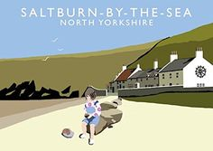 Saltburn-by-the-Sea Art Print (A3) Chequered Chicken https://www.amazon.co.uk/dp/B06WWKD3KY/ref=cm_sw_r_pi_dp_x_pGVRybC9FKNAW