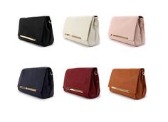 nice leather clutch bags