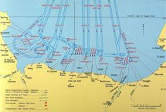 map d day landing beaches normandy