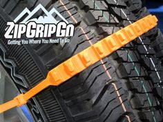 ZipGripGo is an innovative new zip tie cleated traction aid that's designed to get you unstuck from ice, snow and mud.