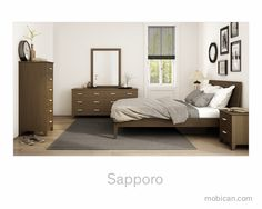 The Sapporo collection will be shown at the  High Point Furniture Market  | La collection Sapporo sera présentée au salon du meubles de High Point #mobican #hpmkt #bedroom #furniture #madeincanada