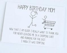 Funny Happy Birthday Quotes For Mom