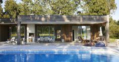 Sommarhus med LA-känsla och 70-talsvibbar