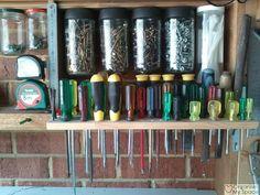 Organise My Space - Declutter Week - Garage Style awesome Garage Attic, Garage Shed, Garage Tools, Garage House, Garage Storage, Garage Ideas, Garage Organisation, Workshop Organization, Garage Solutions