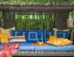 Aprovecha la terraza como zona chill out