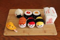 Amigurumi Food: Lots of free patterns