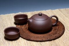 Xi Shi Yixing tea pot.