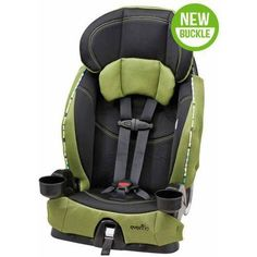 Evenflo Chase Select Harnessed Booster Car Seat, Laguna