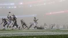 Patriots Beat Falcons In Intense Fog & Fans Are Convinced Belichick Controlled The Weather https://www.fanprint.com/licenses/atlanta-falcons?ref=5750