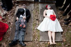 Day of the dead wedding style shoot the element of photography 56 · Rock n Roll Bride