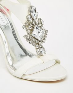 17c2f3334 Ted Baker Tie The Knot Naiss Jewelled Heeled Sandals