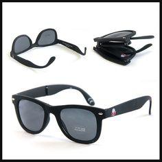 High Quality Plastic Style Folding Sun Glasses Cheap Sample Promotional Sunglasses