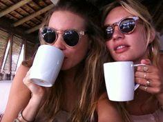 Candice and Behati