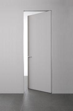 White Internal Doors With Glass Internal Doors Modern, Door Design, House Design, White Interior Doors, Door Dividers, Sliding Wall, Flush Doors, Interior Minimalista, Bedroom Doors