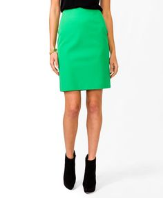 Essential Woven Pencil Skirt - Sale - 2027705123 - Forever 21 UK