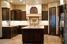 U Shaped Kitchen by American Heritage Homes http://ahhomes.com/portfolio/gallery/