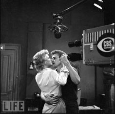 James Dean - she's so lucky to have danced with Jimmy :'(