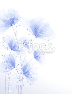 Background with flowers Royalty Free Stock Vector Art Illustration