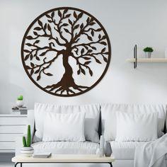 Drevený strom života na stenu - Yesod Metal Art, Home Decor, Tree Of Life Artwork, Decoration Home, Room Decor, Metal Yard Art, Home Interior Design, Home Decoration, Interior Design