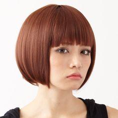 Amazon.co.jp: (レオバイメイン) LEO BY MANE 耐熱フルウィッグ ソリッドボブ L-FWSH010 (GRAP/グラフィット): 服&ファッション小物