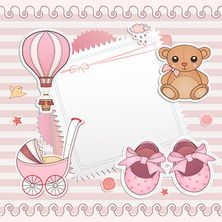 """Photo from album """"Set of baby booties and decorative backgrounds"""" on Yandex. Clipart Baby, Baby Shower Clipart, Baby Shower Templates, Tarjetas Baby Shower Niña, Imprimibles Baby Shower, Baby Shower Invitaciones, Baby Girl Cards, New Baby Cards, Baby Shawer"""