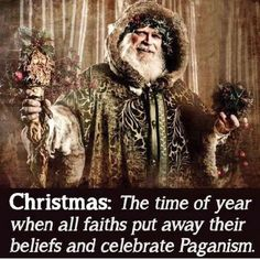Atheism: We-Think-More: Photo Pagan Yule, Norse Pagan, Norse Mythology, Vikings, Pagan Christmas, Christmas Art, Christmas Humor, Christmas Ideas, Holiday Fun