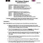IB German Culture Project