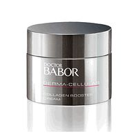 BABOR Derma Cellular Collagen Booster Cream is a facial cream to restructure and lift the skin from the inside. The researchers at Dr. Babor developed Collagen Booster Cream as an effective alternative to facial injections.