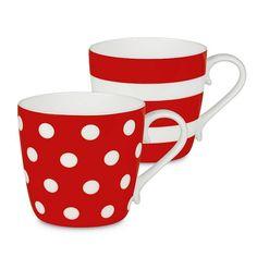 Konitz Dots and Stripes 2-pc. Mug Set,