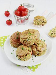 Muffins au poulet et légumes d'été | Petit Bec Gourmand