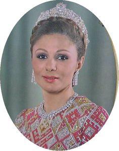 Empress Farah Diba of Iran